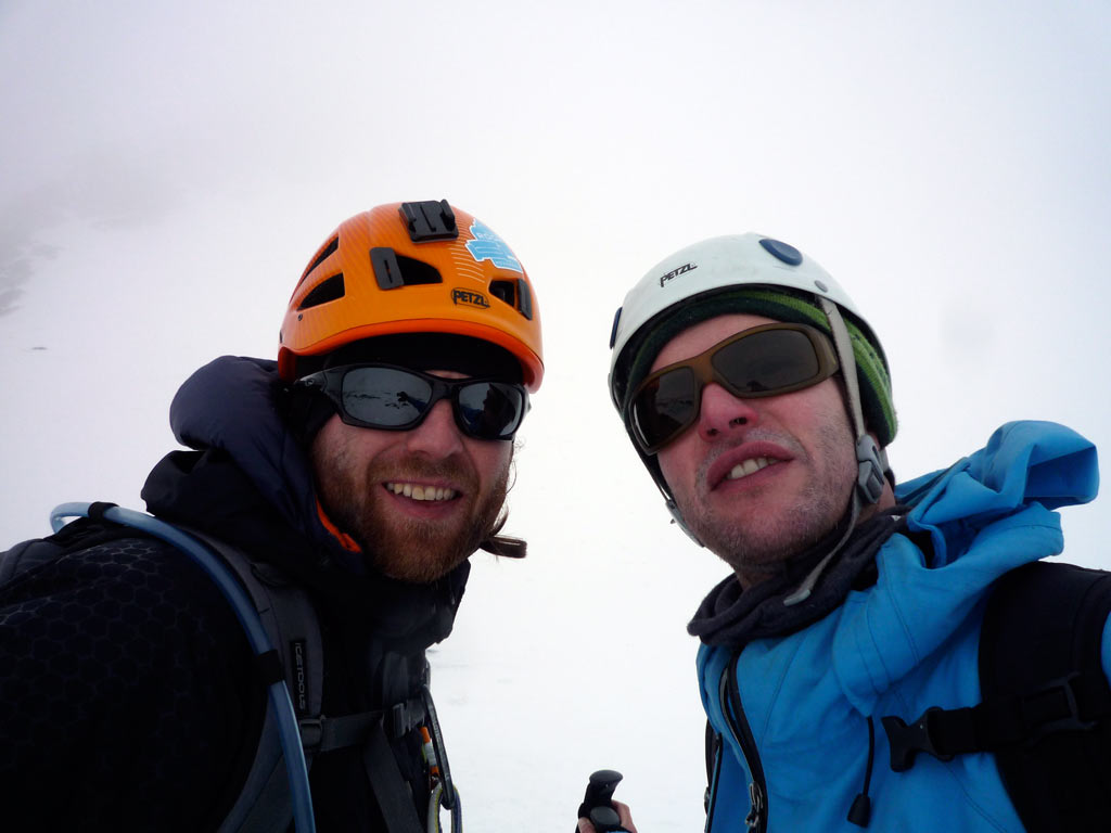 Splitboard Großglockner, Whiteout and no Summit
