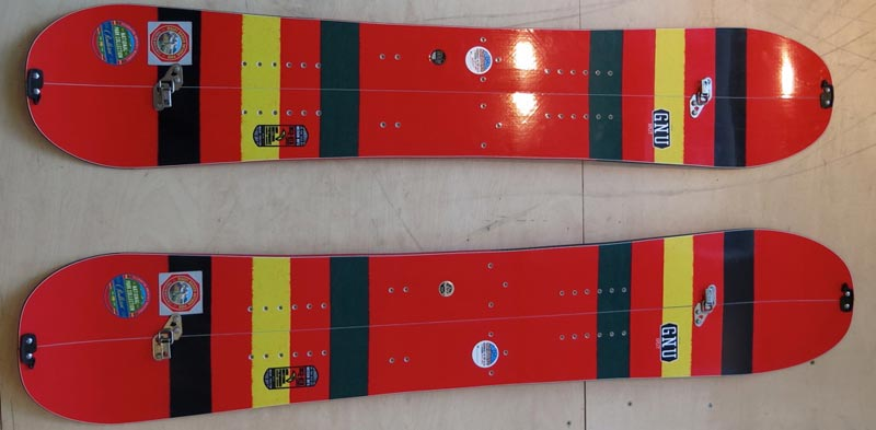 Gnu Splitboard Design 15-16