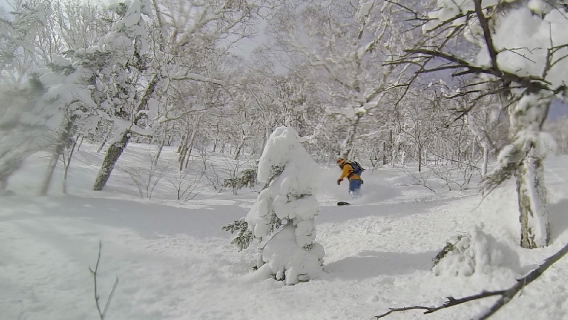 Splitboarding Saporro Japan