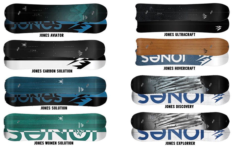 Jones Splitboard Quiver 15-16