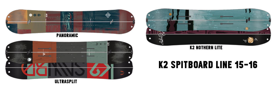 K2 Splitboard Models 15-16