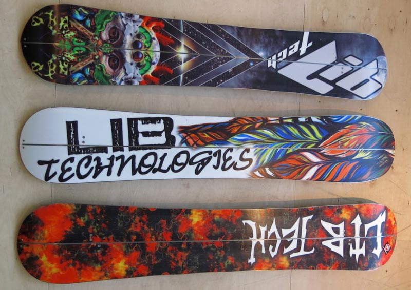 Lib Tech Splitboard Design 15-16 bases