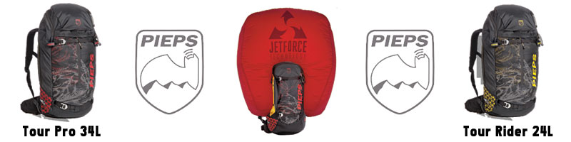 Pieps Jetforce Airbag Backpack