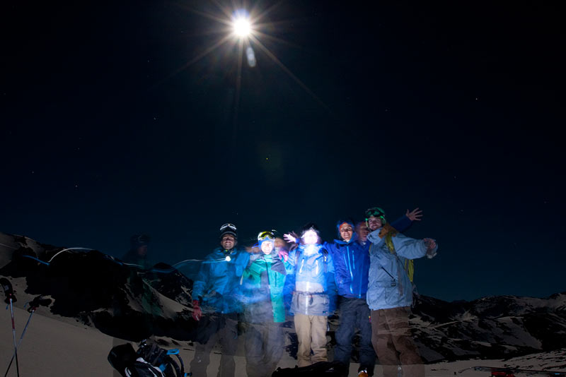 Blue Moon Splitboard Tour zurück am Start