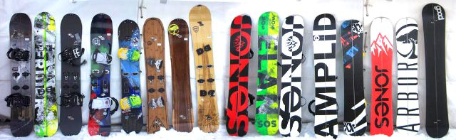 Splitboards 2014 first impression