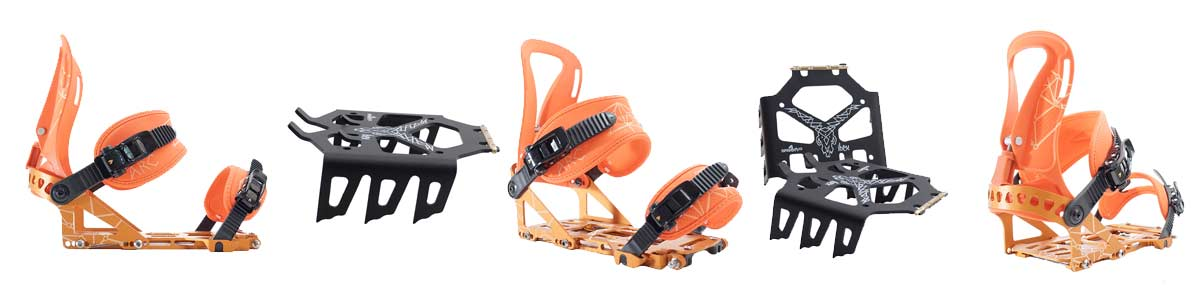 Spark R&D Arc Splitboard Bindung