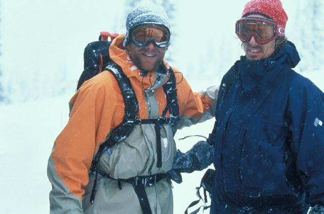 Splitboarding Stoke Dave Downing and Craig Kelly mid 90th