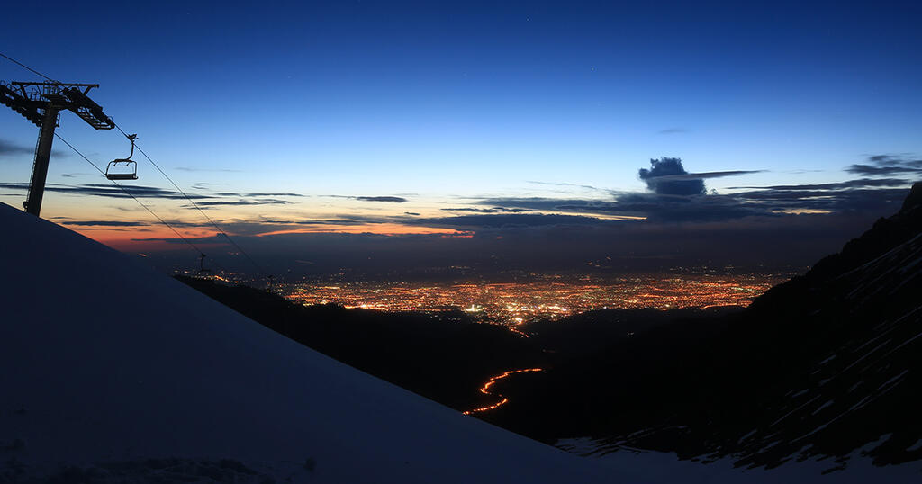 View towards Almaty