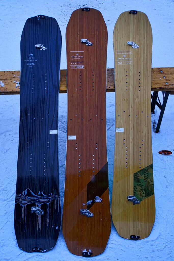 Arbor Splitboards 16-17 top