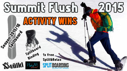 Jump in and win the summit flush