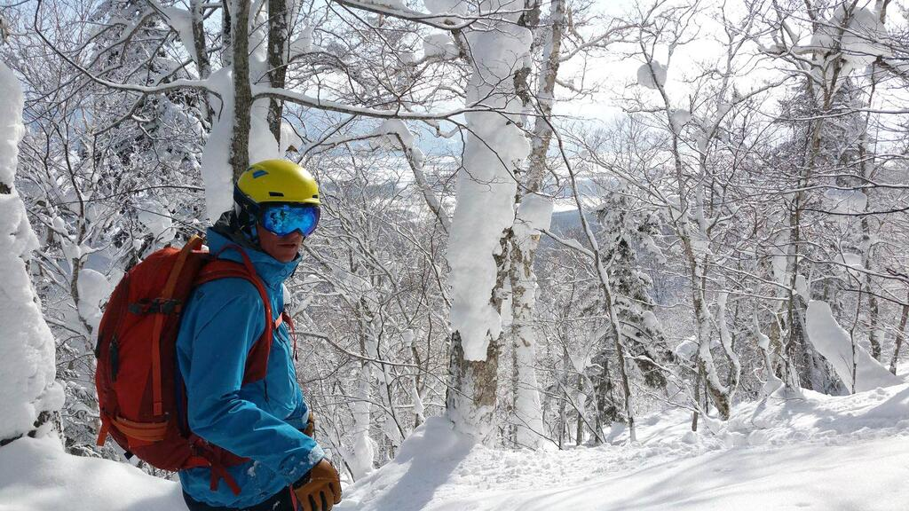 Im Backcountry Furano Japan
