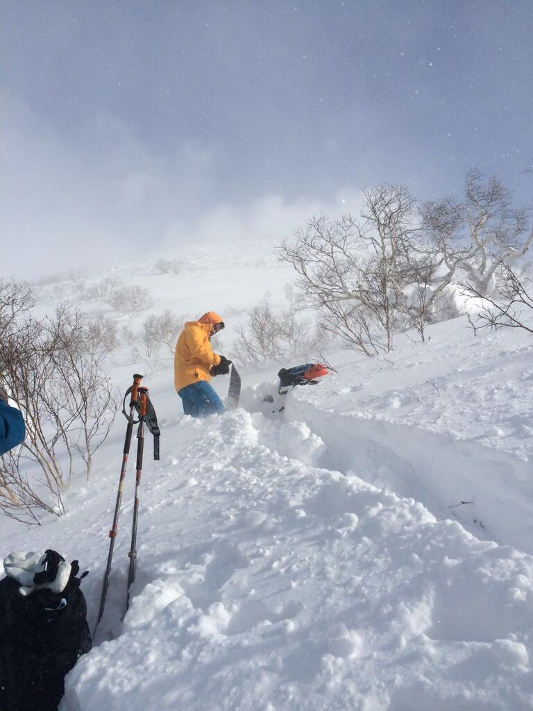 Splitboarding in Niseko Japan