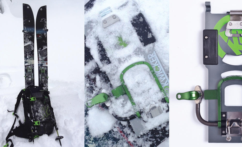On Snow K2 Kwicker Splitboard Step-In System