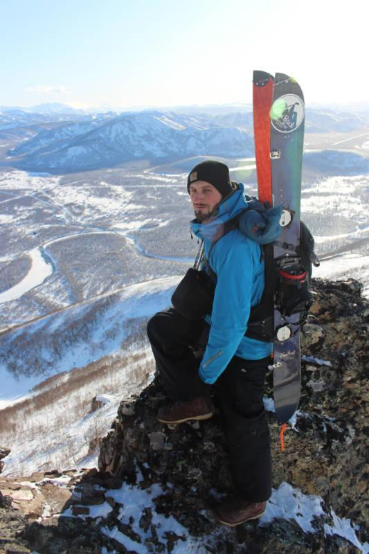 Kamtchatka by splitboard 2