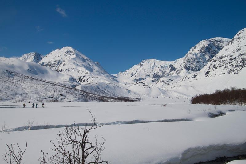 Touring in the Lyngen Alpes