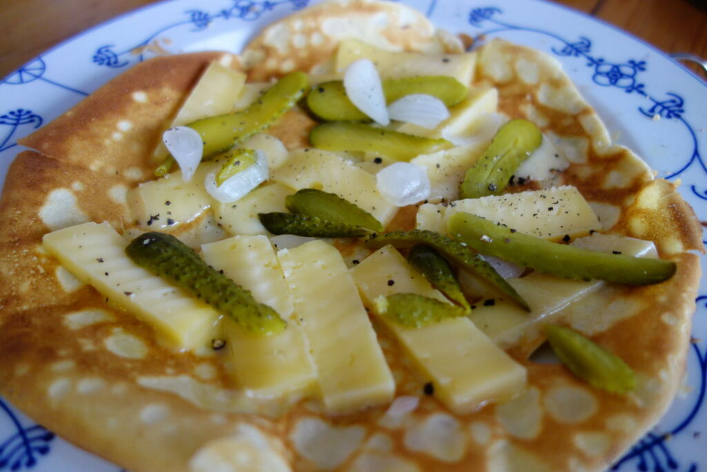 Crepes Raclette