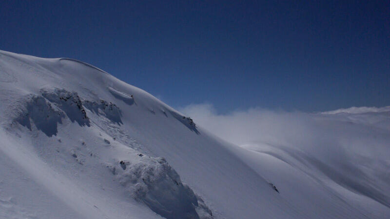 Puyehue South Face riding
