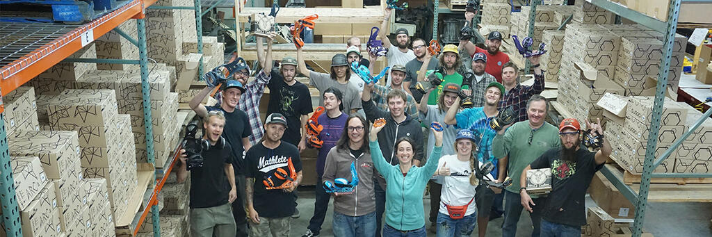 Stoked employees at Spark