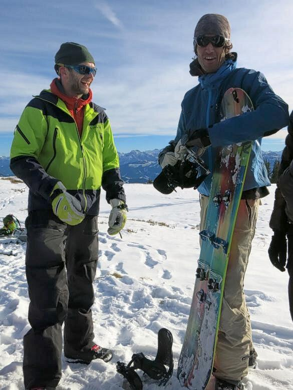Fun at the summit with Plum Splitboards