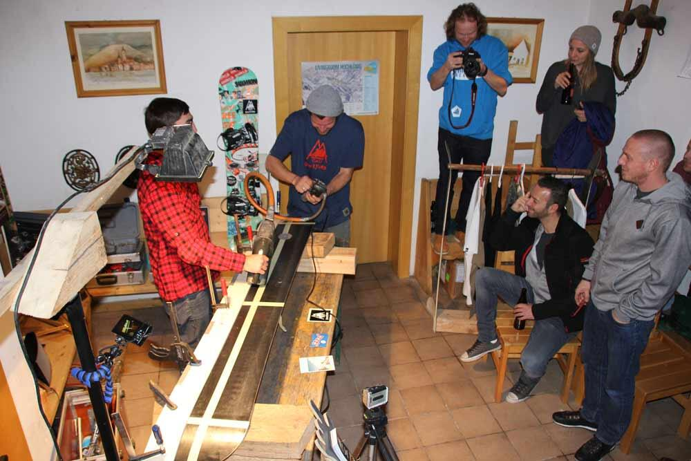 Splitboard Workshop 1