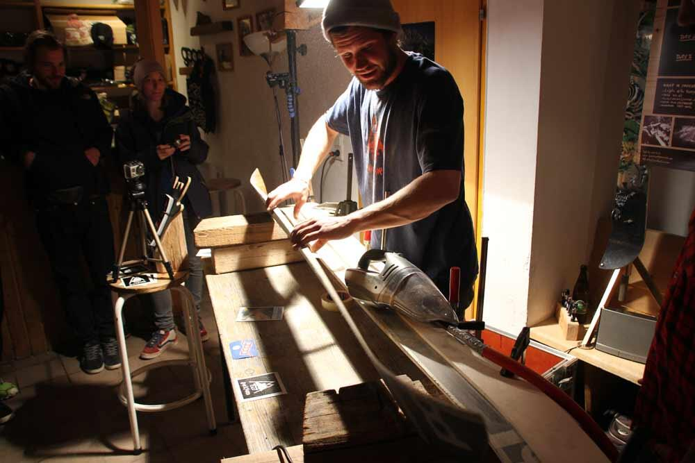 Splitboard Workshop 2