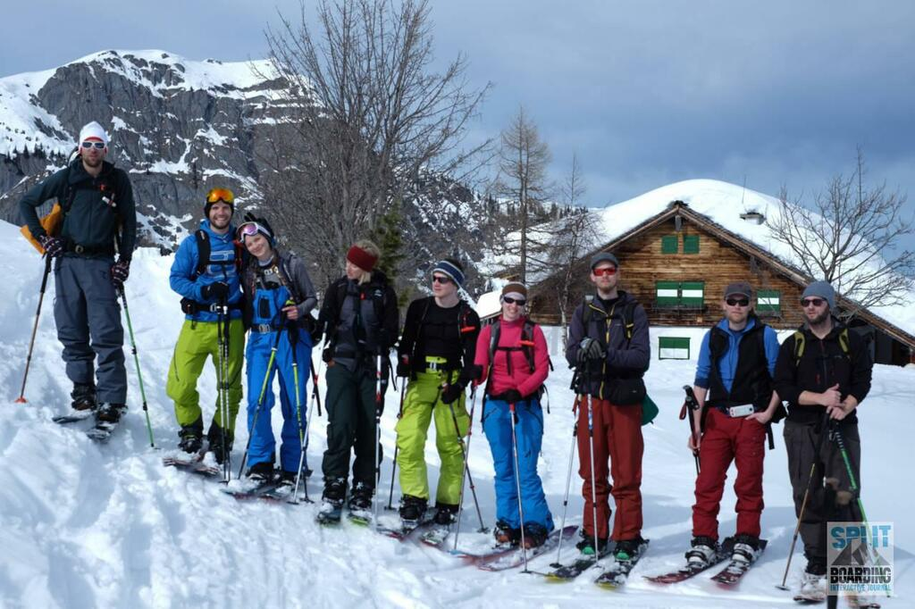 Top-Level crew with Powderflo