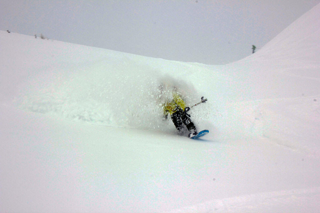 This is the personal Whiteroom on a Jones Splitboard