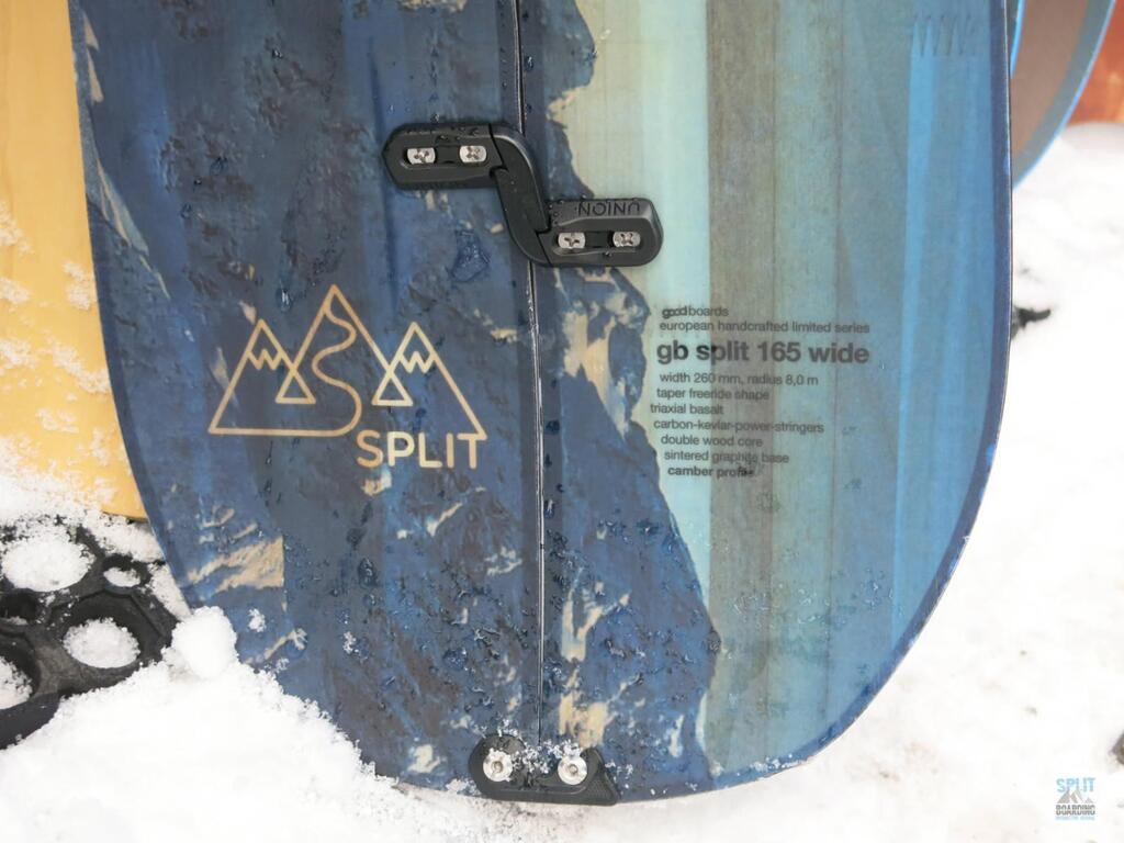 Splitboard Goodboards Detail