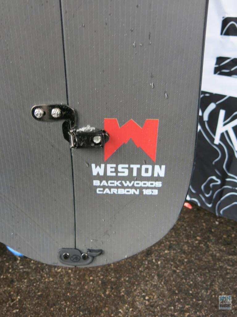 Weston Backwoods Carbon Detail