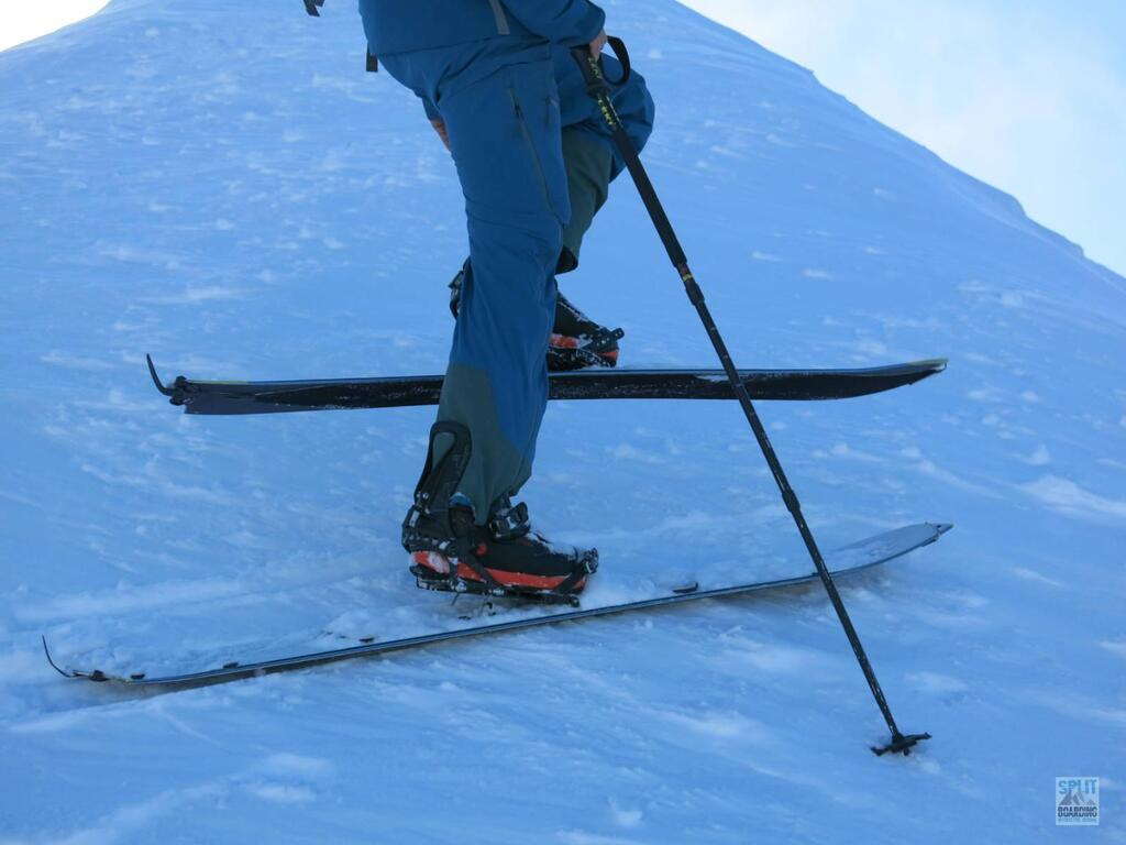 Splitboard Test 8