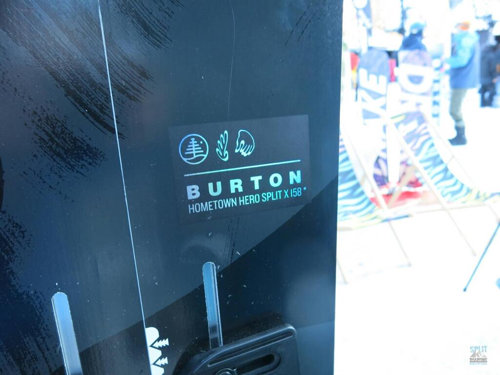 Detail Burton Hometown Hero Split