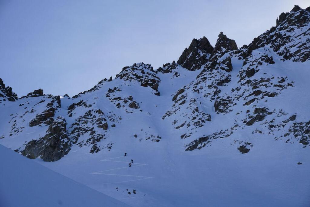 Splitboarding at Arlberg Chutes