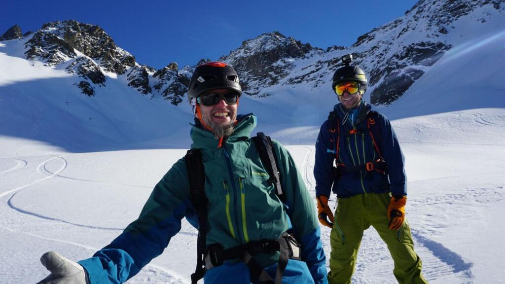 Splitboarding at Arlberg pure happiness