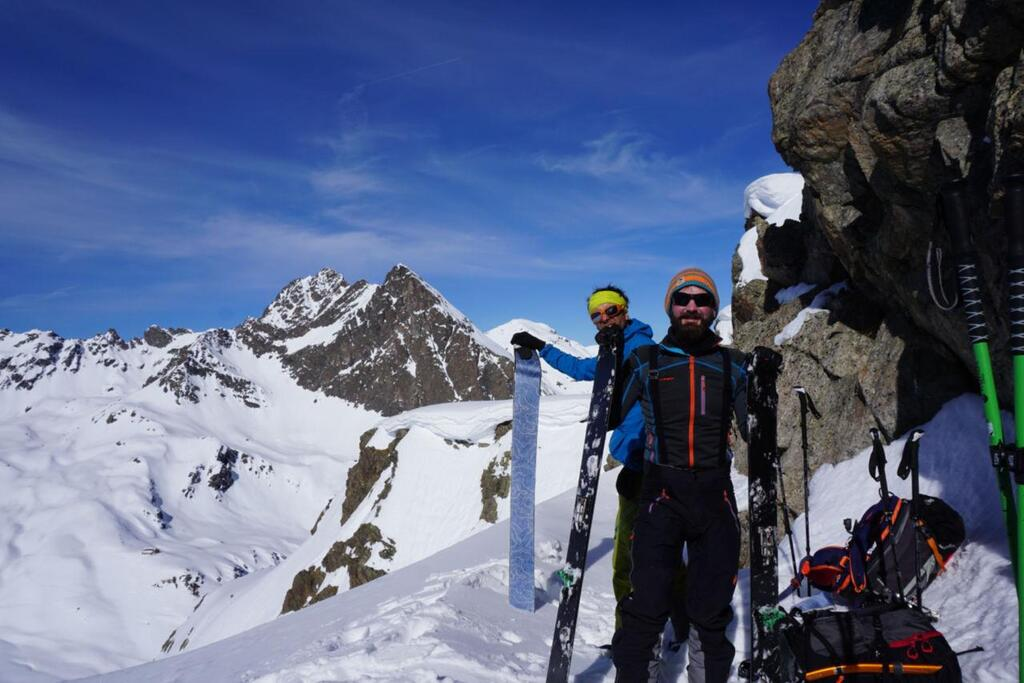Splitboarding at Arlberg goal 1
