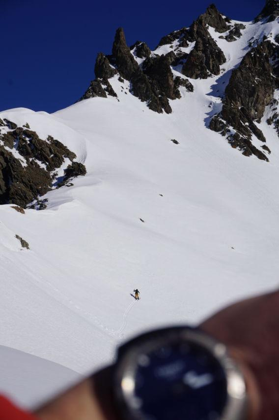 Splitboarding am Arlberg Risikolevel