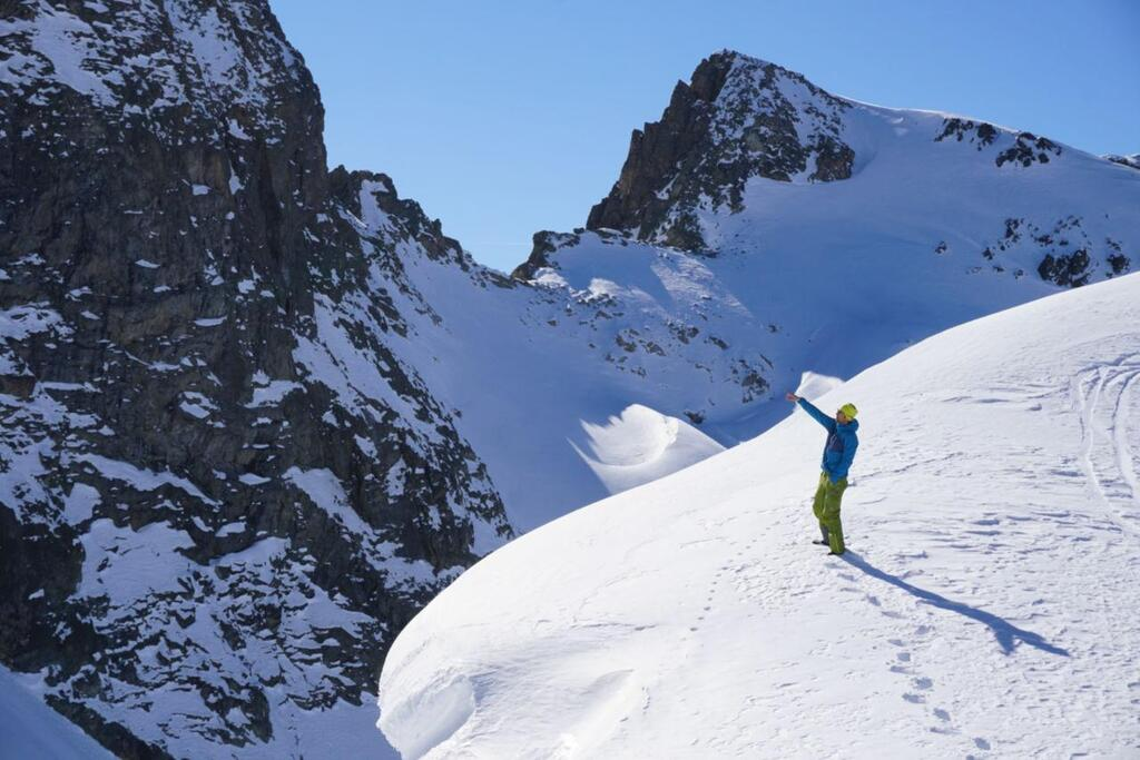Splitboarding at Arlberg endless options