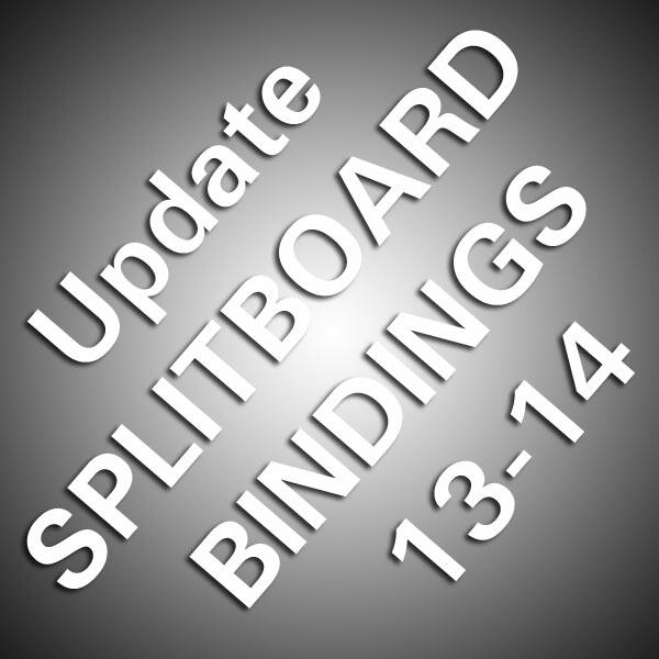 Update Splitboard Bindings 13-14