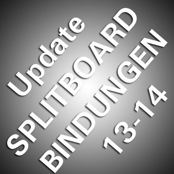 Update Splitboard Bindungen 13-14