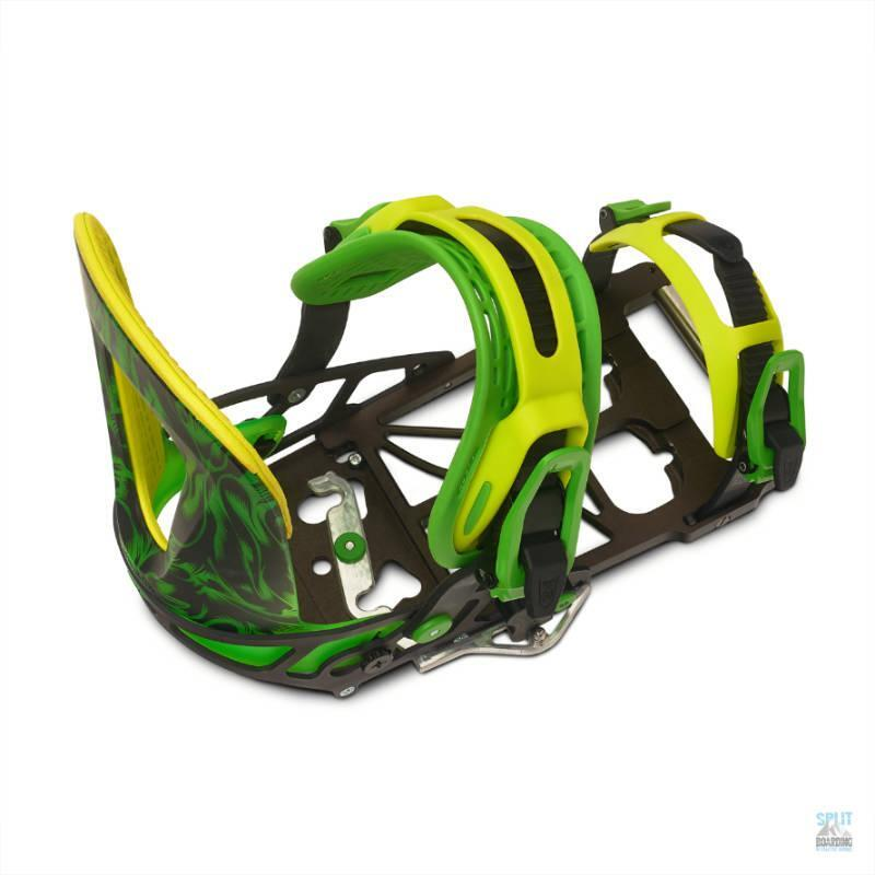 Wintersafari Splitboardbinding diagonal top