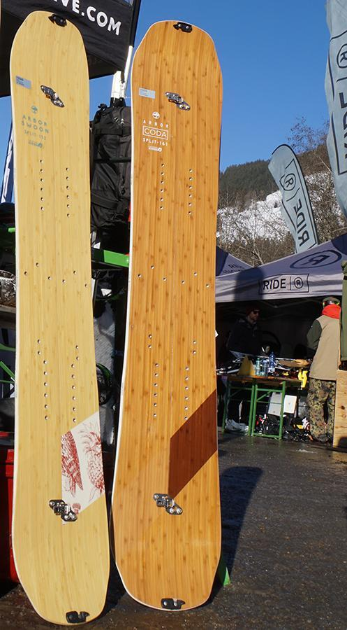 Arbor Swoon Splitboard 2017-18 (left)