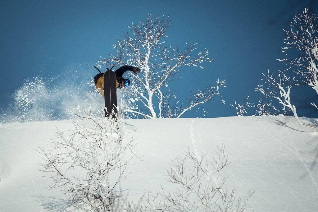 Freeride Split in Action. Rider: Victor Heim