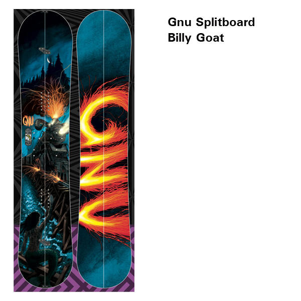 Gnu Splitboard Billy Goat