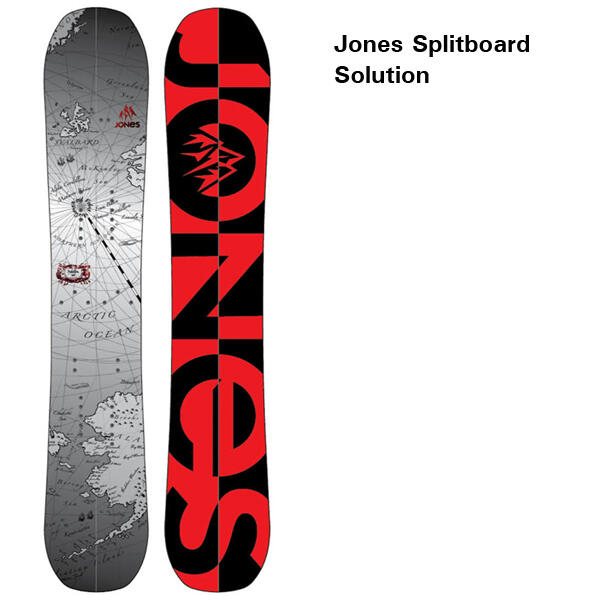 Jones Splitboard Solution 13-14
