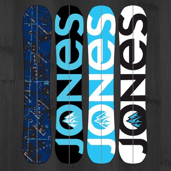 The splitboard of one of the most know freeriders in the world