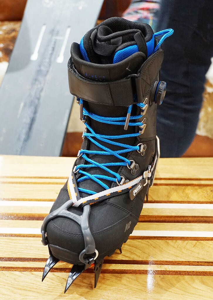 Looks nice and solid with crampons