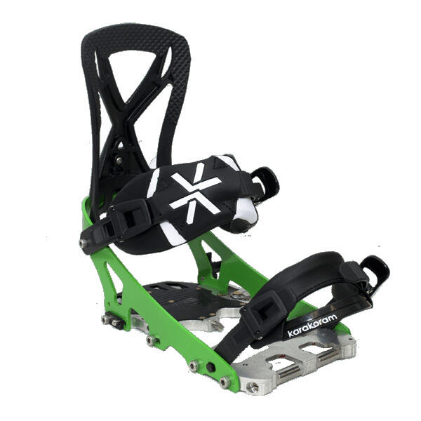 Splitboard Binding Karakoram Split30 Green