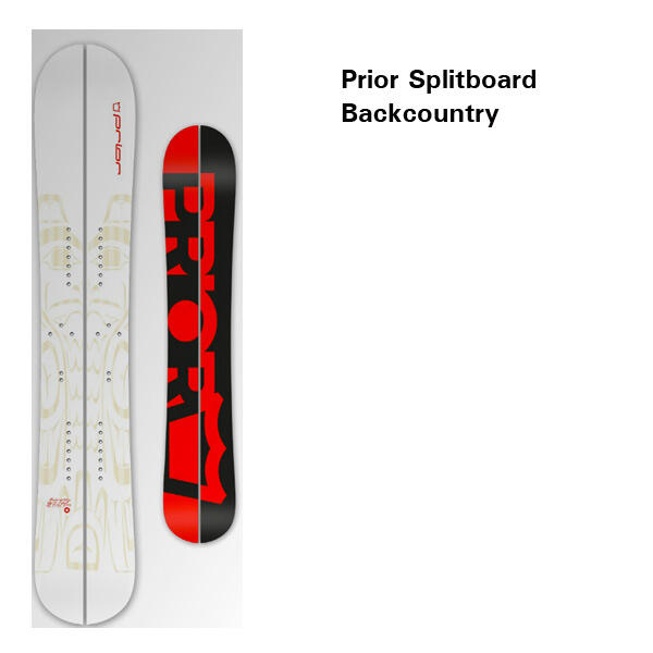 Prior Splitboard Backcountry 13-14