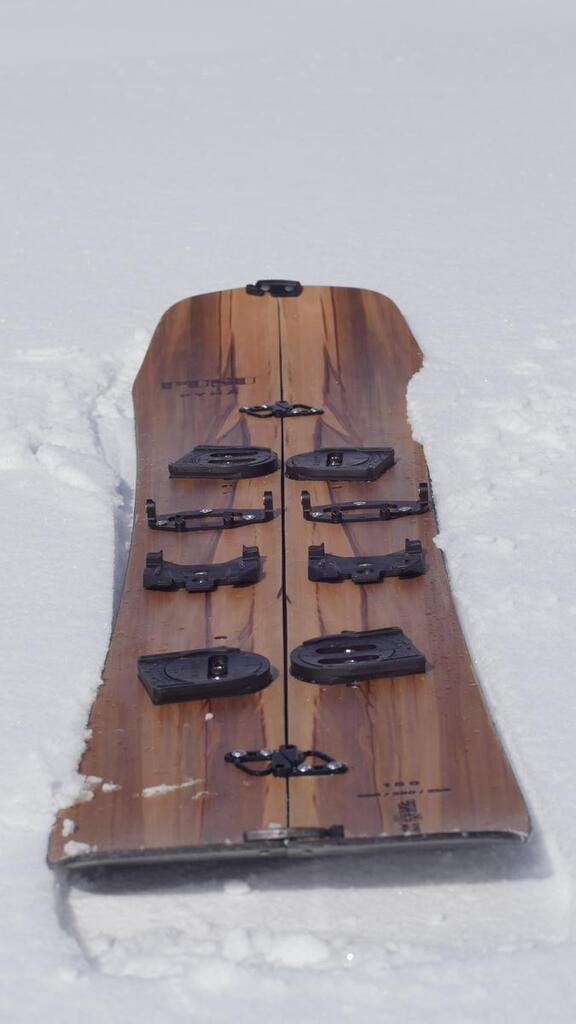 Splitboard Shape