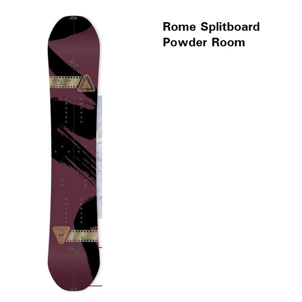Rome Splitboard Powder Romm 13-14