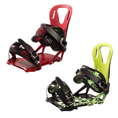 the burner and the blaze splitboard bindings made by spark r&d